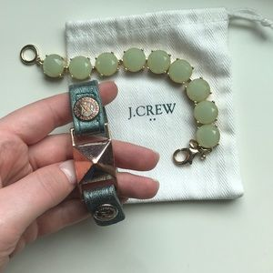 J. Crew AND BCBG bracelets